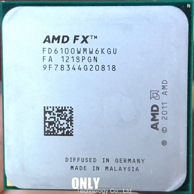 US $22 95 |AMD FX 6100 AM3+ 3 3GHz/8MB/95W Six Core CPU processor FX serial  pieces FX 6100 (working 100% Free Shipping)-in CPUs from Computer & Office