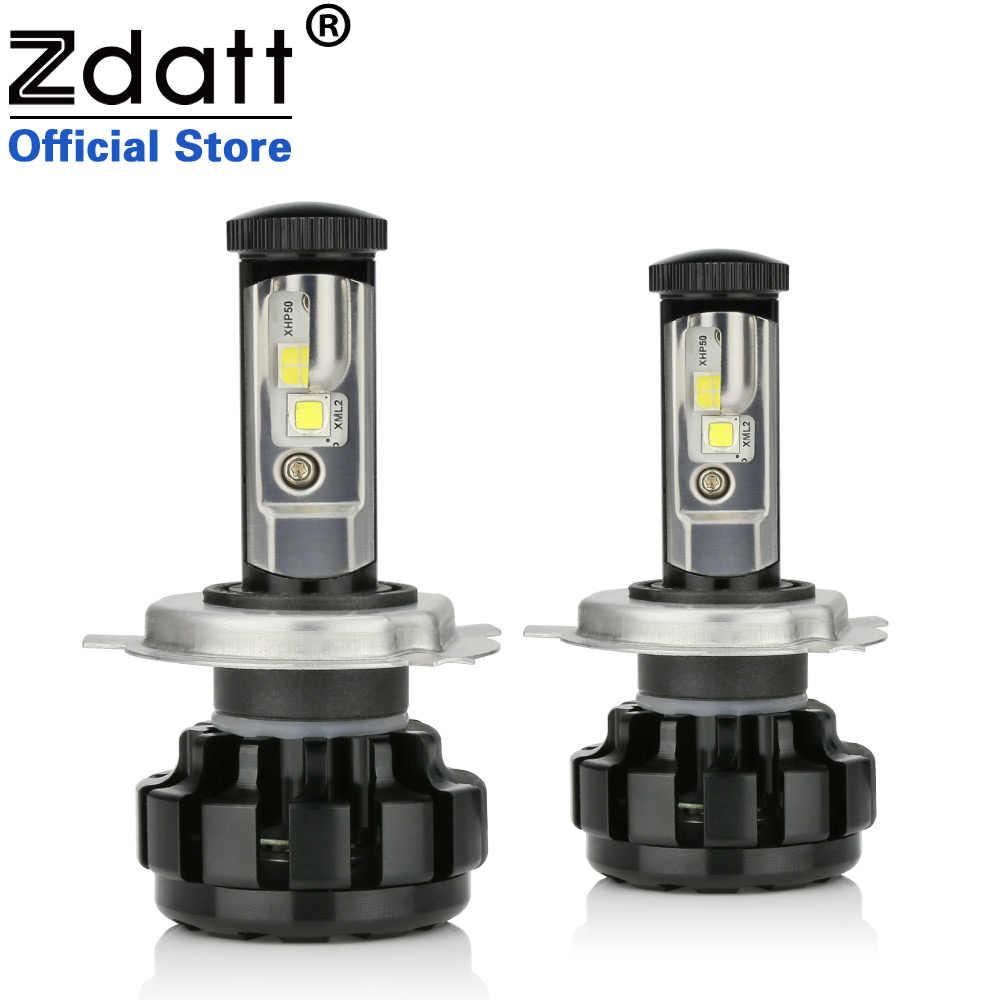 Zdatt 100W 14000LM H4 Car Led Headlights H7 H8 H11 Canbus Built-in Decoder Error Free Auto Bulb 12V Headlamp