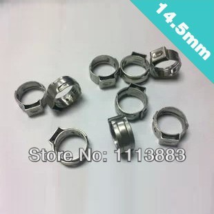 PACK OF 100 STAINLESS Single Ear Crimp Hose Cl&s size 9/16  or 14.5mm-in Cl&s from Home Improvement on Aliexpress.com | Alibaba Group & PACK OF 100 STAINLESS Single Ear Crimp Hose Clamps size 9/16