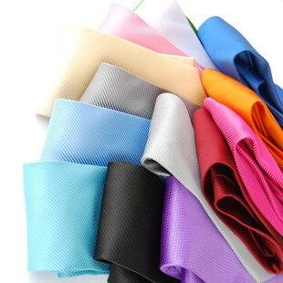Nano waterproof fabric tie solid color tie 2 6