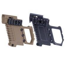 الصيد التكتيكية مسدس Carbine عدة جلوك جبل تحميل سريع ل CS G17 18 19 اطلاق النار ملحقات المسدس