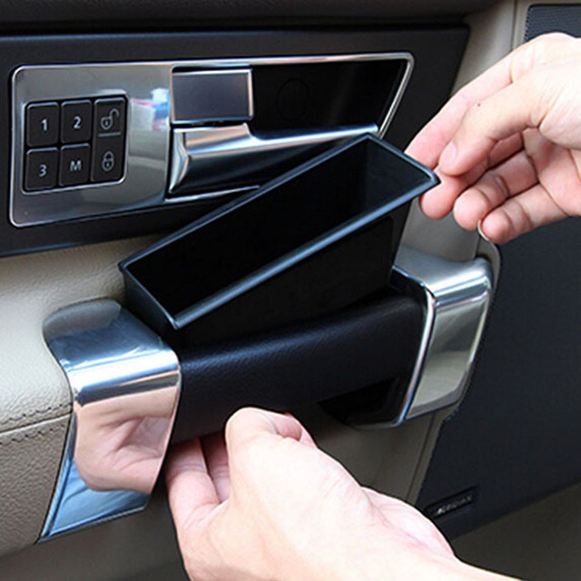 Door Armrest Handle Phone Storage Box Barrel Holder For Land Rover