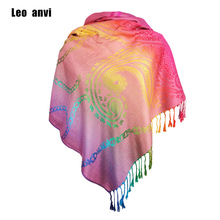 fashion foulard women bandana Paisley winter Scarf rainbow Cotton Pashmina Gift For Her blanket scarf red hijab femme sjaal