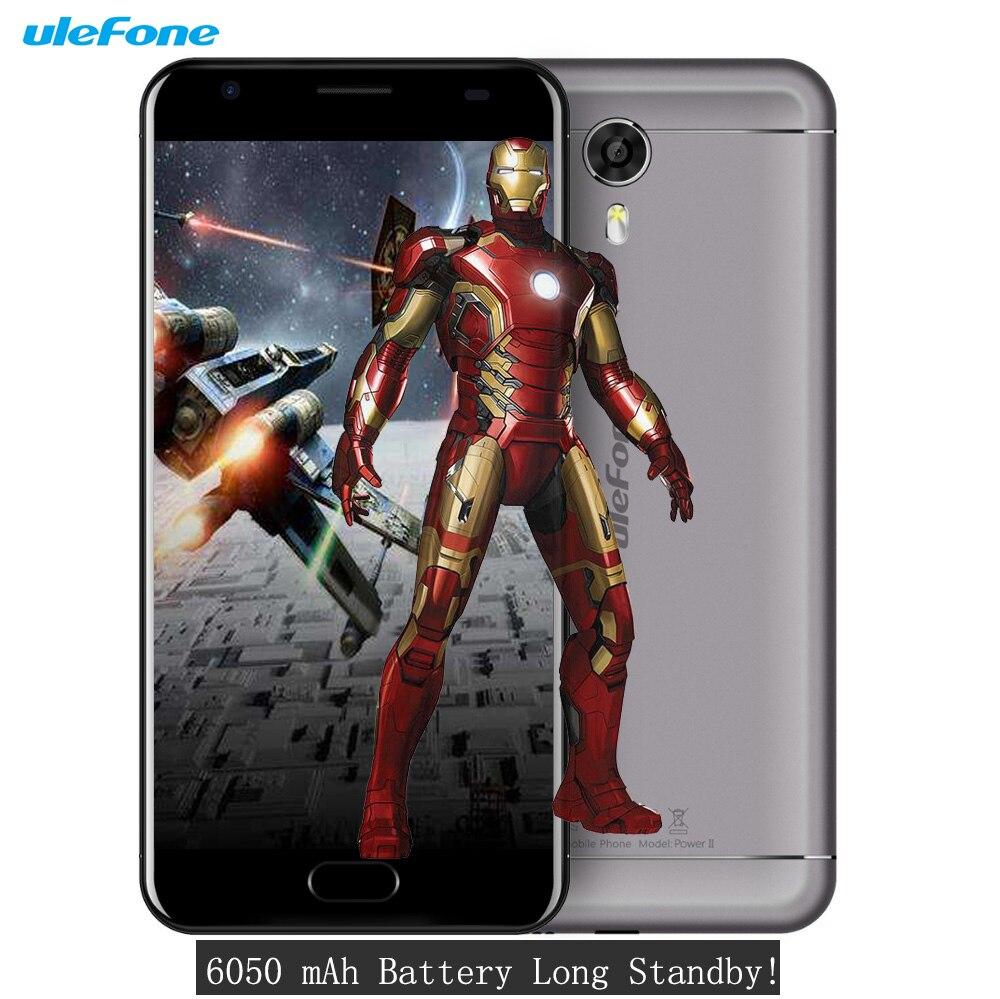 Ulefone Power 2 Phone 6050mAh 4G 5.5 Inch FHD MTK6750T Octa Core 4GB RAM 64GB ROM