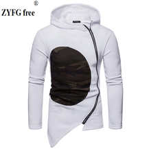 ZYFG free Brand Sweatshirt Men Hoodies autumn Winter Hoodie Mens slim fit fashion Coat Jacket Casual Tracksuits Masculino