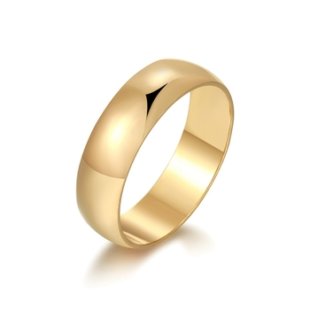 Gold Color Engagement Ring Wedding Rings For Women&Men Bijoux Wedding Accessories Love 2RW-09 image