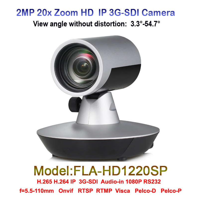 2.0 Megapixel 20x Optical Zoom Integrated Video Broadcast Media Camera With 3G-SDI IP RS232 Audio interface 2mp hdmi full hd broadcast 12x zoom ptz video conference camera audio with ip usb2 0 usb3 0 interface