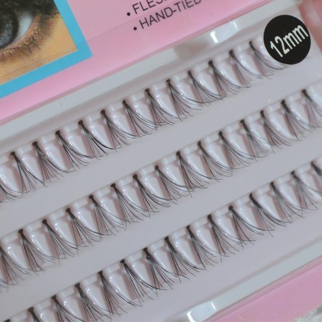 QSTY Handmade False Eyelashes Grafting Natural Long Eye lashes Extensions Beauty Health Makeup False Lashes 4