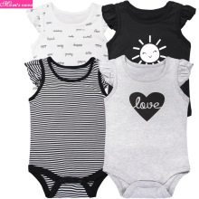 4 pcs baby summer thin 100% cotton Newborn light
