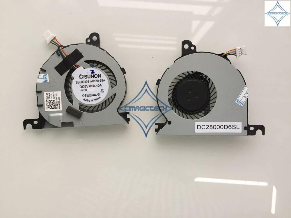 original new for DELL Latitude E7240 EG50040S1 C130 S9A KSB0605HC CL1N laptop cpu cooling fan