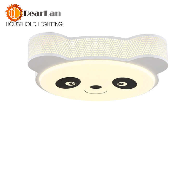 Panda Shape Led Ceiling Lamp Children Room To Absorb Dome Light LED Shape Let The Children Of the World More Fairy Tales(CD-52)