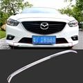 Хромированная защитная накладка переднего бампера для Mazda 6 Atenza 2014