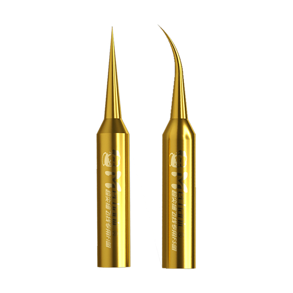 Mechanic Pure Copper Soldering Iron Tips Dedicated for Fly Line Welding Repair