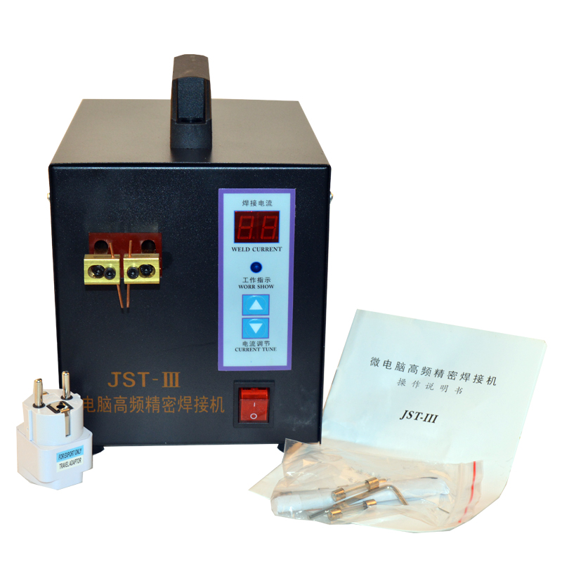 スポット溶接機溶接ノートパソコンのバッテリーボタン電池バッテリーパック適用ノートブックおよび電話のバッテリー溶接 JST 111  グループ上の ツール からの スポット溶接機 の中 1