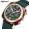 Shifenmei женские часы 2018 распродажа модные часы с нейлоновым ремешком Кварцевые спортивные часы повседневные наручные часы