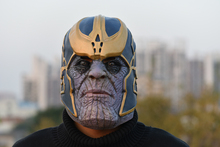The Avengers Thanos Infinity Gauntlet Cosplay Gloves Prop Halloween Hard Latex Avengers: War Mask