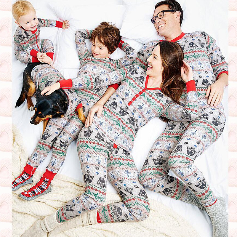 family matching christmas pajamas set adult girls boys kids baby pijama set 2pcs clothing set family pyjamas women plus size