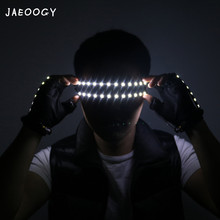 New high quality LED luminous laser glasses concert, performing fluorescent props, bars, night clubs, singers, dance products