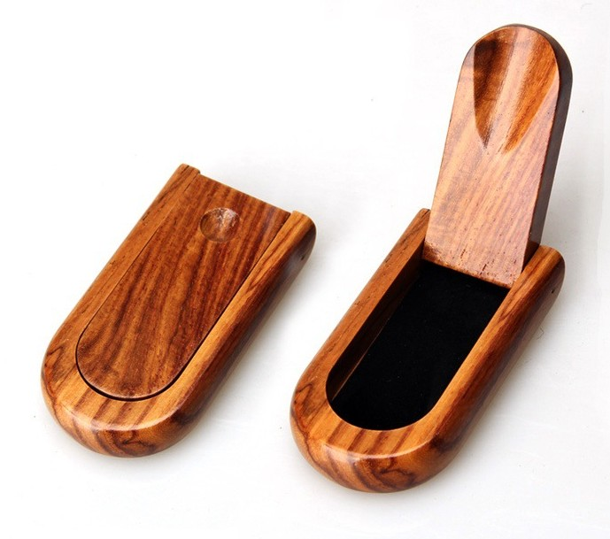 New 1pcs Wooden Tobacco Pipe Stand- Fold-away Portable For Single Pipe rack/holder for Smoking Pipe Smoking Accessores