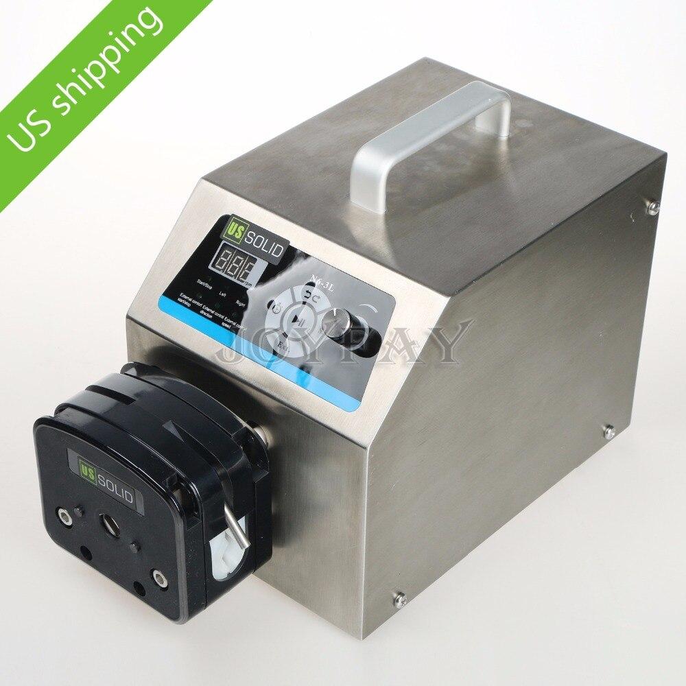 Industrial Peristaltic Pump N6-3L 0.211 - 3600 ml/min 0.1-600 rpm RS485 industrial peristaltic pump n6 3l 0 211 3600 ml min 0 1 600 rpm rs485