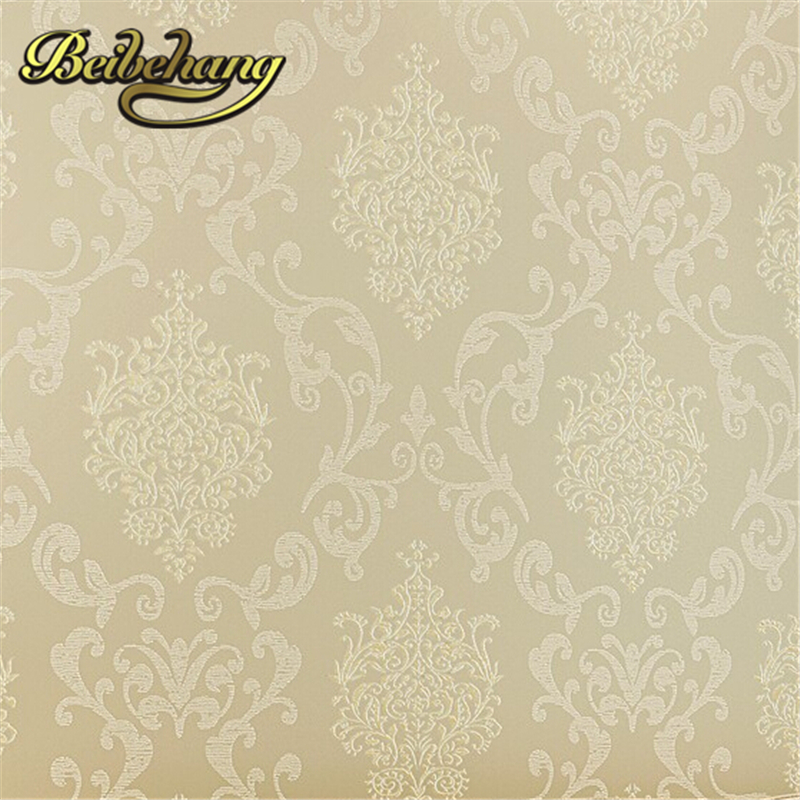 Non woven damask european vintage wallpaper wall covering paper for backdrop textured wall papers hom from reliable wall covering paper suppliers on luo lan