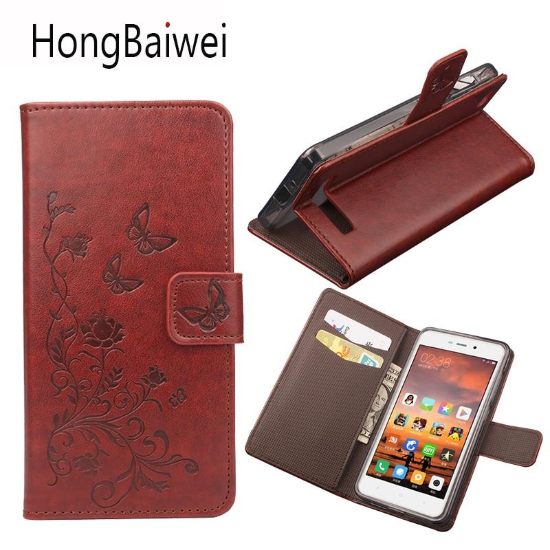 Caja del Teléfono del tirón para Xiaomi Redmi 4A Funda Cartera de cuero Para Xia