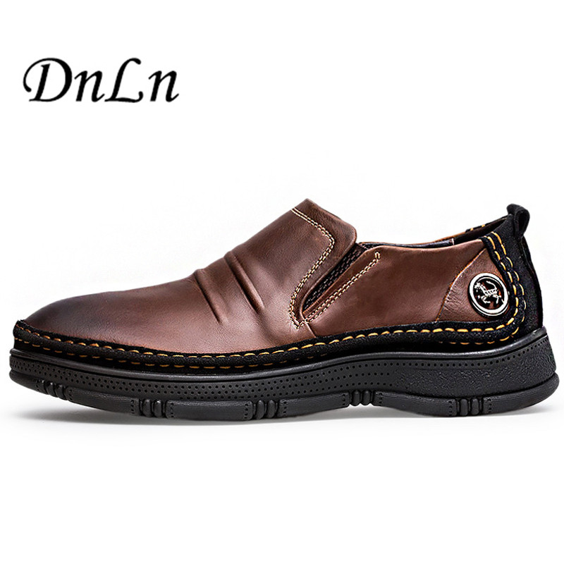 Big Size Comfort Genuine Leather Casual Shoes Men Loafers Suede Men Elevator Shoes Breathable Slip On Flats D50