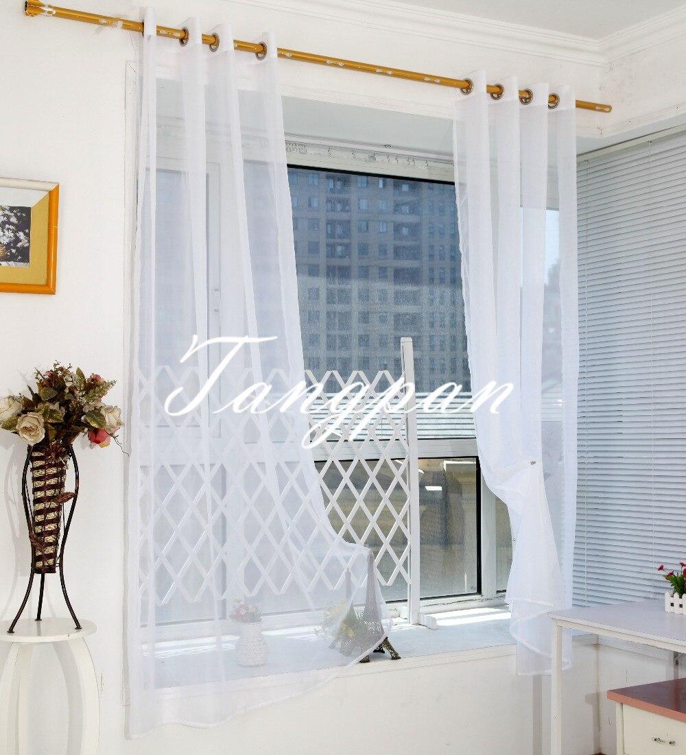 Vente en gros gaze rideau panneaux d'excellente qualité de ...