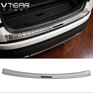 Image 3 - Vtear For Skoda Kodiaq body Accessories cover rear bumper protection car Exterior Chromium Styling interior car styling 2019