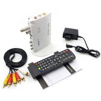 New ISDB T Digital TV Tuner Set Top Box Auto Receiver Antenna Mobile For car DVD GPS