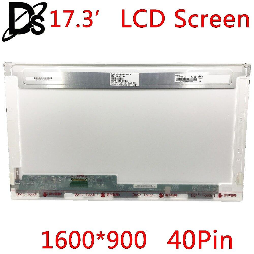KEFU N173FGE-L23 LP173WD1 TLA1 B173RW01 V.3 LTN173KT01 LTN173KT02 For 17.3 LCD Screen LED Laptop 1600*900 40pin 100% original