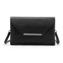 2017 fashion classic small Black Plaid hand women handbags Messenger Bag Solid envelope shoulder bag women evening clutch