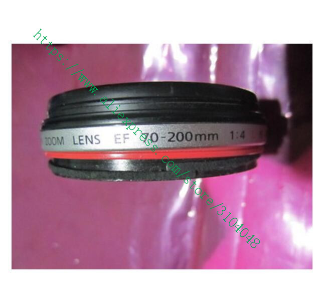 new EF 70-200 MM for Canon EF 70-200mm f/4L IS USM Front 2 Filter Ring Assembly Replacement Part free shipping new origina 70 200 4l lens mount for canon 70 200mm 4l is ums bayonet 70 200 mount ring dslr camera repair part