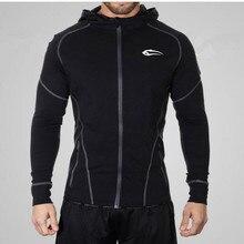 2016 stadium hoodie man coat bodybuilding and fitness hoodie muscle male brother hoodie