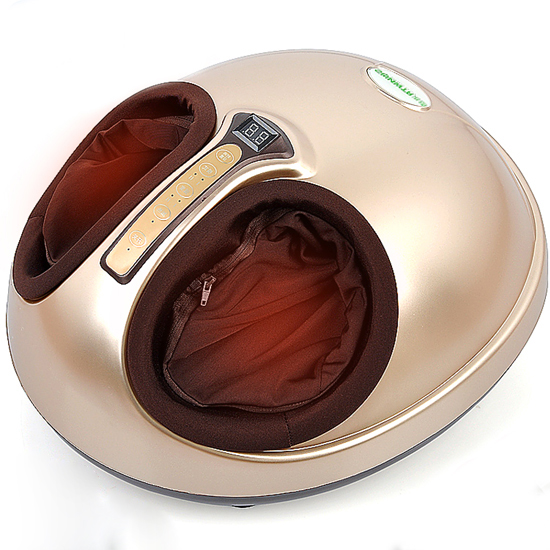 SUNWTR 3D Kneading Foot Massage Machine Pushing Pincing Pressing and Kneading Foot Massage Techniques Infrared Heat Therapy Body clustering and optimization based image segmentation techniques