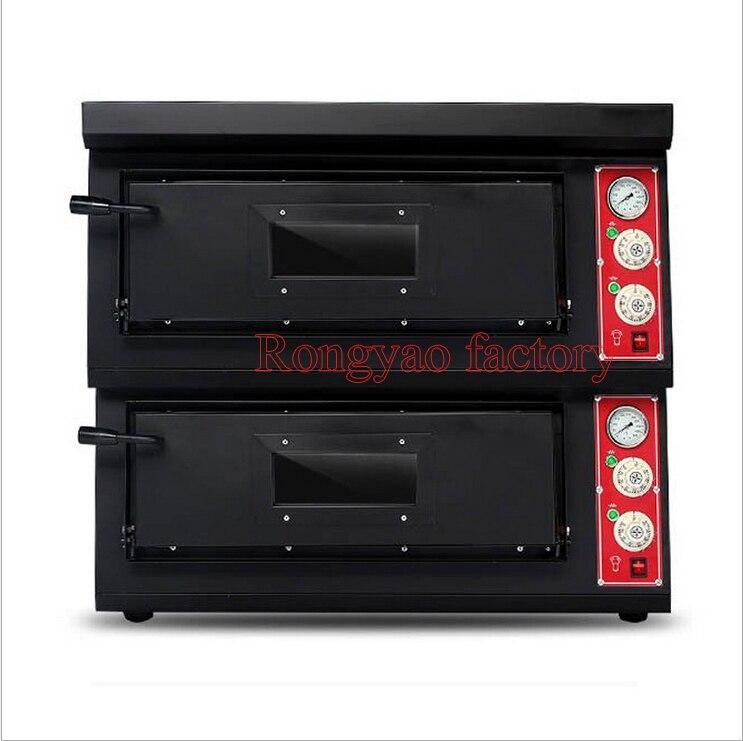RY-P2 500 degrés four à pizza électrique four à pizza professionnel four à pizza commercial deux couches four à pizza