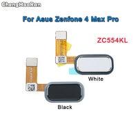 ChengHaoRan For Asus ZenFone 4 Max Pro ZC554KL Fingerprint Sensor Scanner Touch ID Home Button Return Flex Cable Ribbon