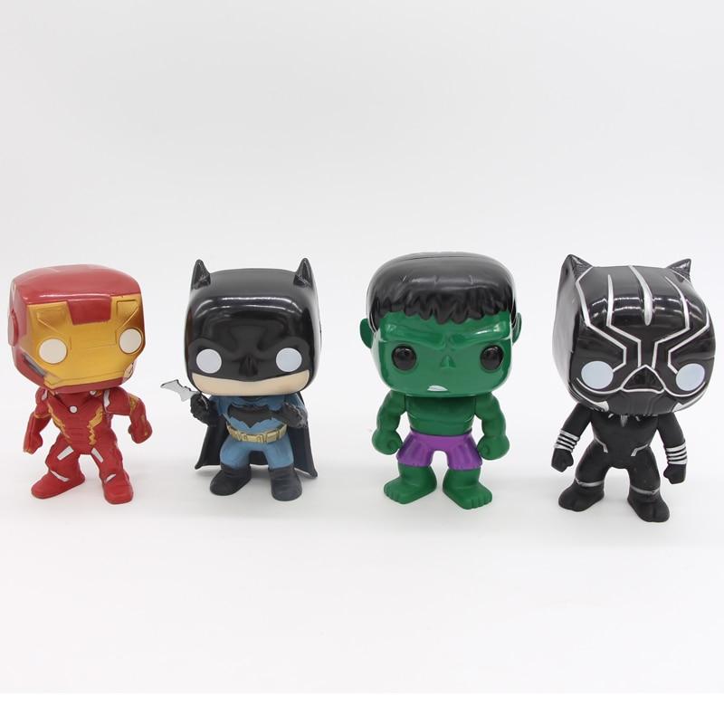 10 հատ / սահմանել DC Justice League & Marvel Avengers - Խաղային արձանիկներ - Լուսանկար 6