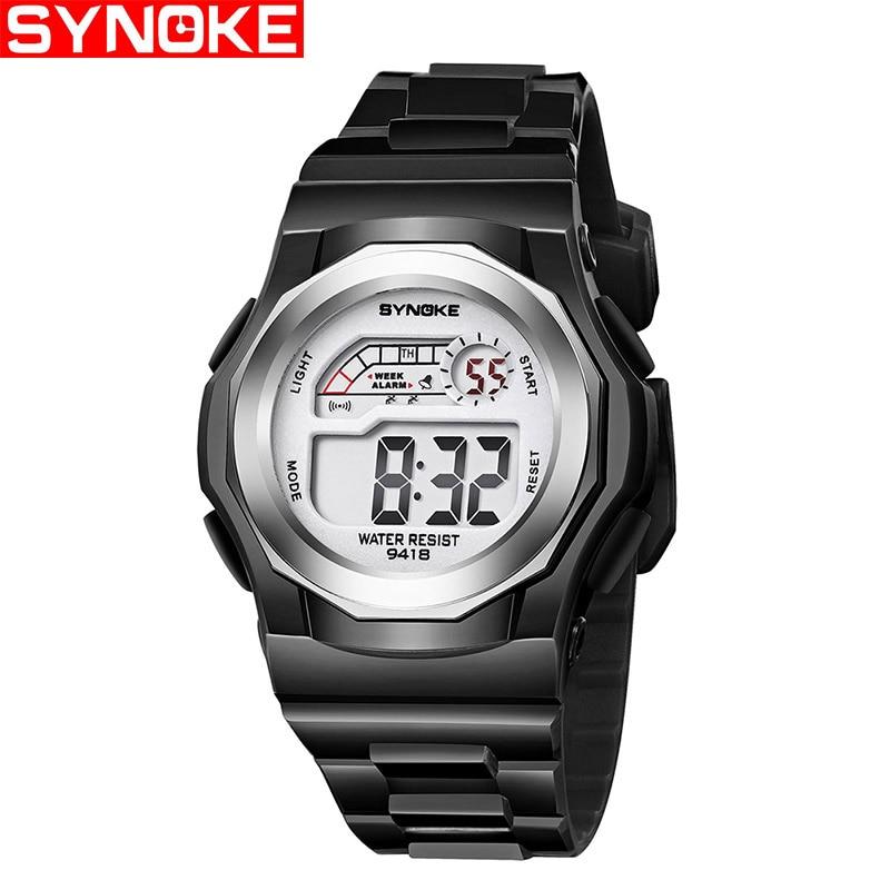 SYNOKE Fashion Waterproof Watches Children Watch Kids Boy Girls Digital Watches Sports WristWatch
