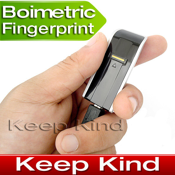Mini USB Biometric Fingerprint reader fingerprint Lock for your computer freeshipping