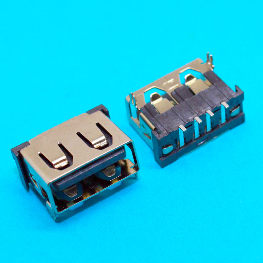 2pcs - 100pcs 2.0 USB Jack Socket Port Connector for Lenovo Asus Dell HP ... Laptop USB2.0 Port Short body 1cm 10mm 10pieces lot dc power jack socket for lenovo ideapad 100 14 100 14iby 100s 14iby 100 14ibr 100s 14ibr charging port connector