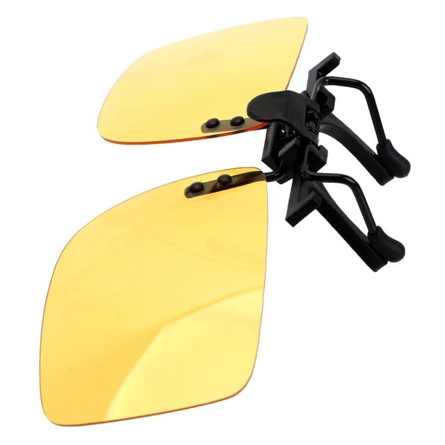 YOSOLO Car Driver Goggles Anti-UVA UVB  Polarized Sun Glasses Driving Night Vision Lens Clip On Sunglasses Interior Accessories 2