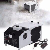 ship from US! 1500W Low Laying Smoke Fog Machine DMX Dry Ice Effect Stage Lighting Effect for Xmas Party DJ Disco Wedding