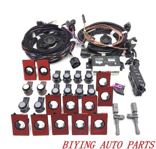 Pour VW Golf 7 MK7 VII MISE À NIVEAU Avant Et Arrière Intelligent Parking Assist Parc Aider PLA 12 k OPS LHD 5Q0 919 298 k 5Q0919298K