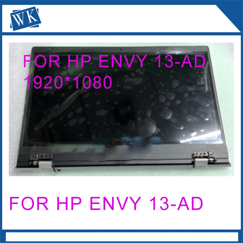 FOR HP ENVY 13-AD LED Display LCD cable Complete Assembly New Original NON TOUCH hinges FHD without touch 1920X1080 for HP 13 ADFOR HP ENVY 13-AD LED Display LCD cable Complete Assembly New Original NON TOUCH hinges FHD without touch 1920X1080 for HP 13 AD