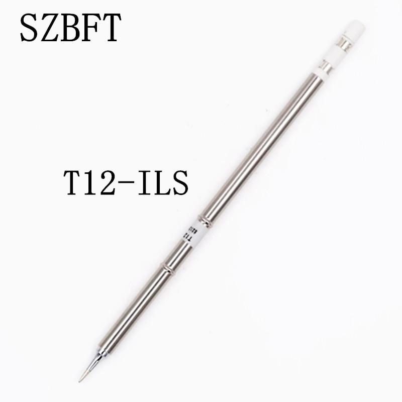 SZBFT 1 piezas para soldadura Hakko T12-ILS Puntas de soldadura de soldadores eléctricos para la estación FX-950 / FX-951