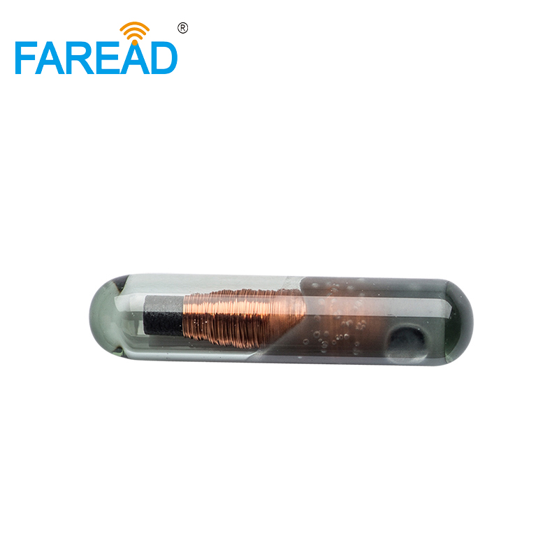 X80pcs Small Size 1.4*8mm RFID Embeded Glass Tags Micro Chip Transponder 125KHz Standard UID/ID64/Manchester/Unique/64bit
