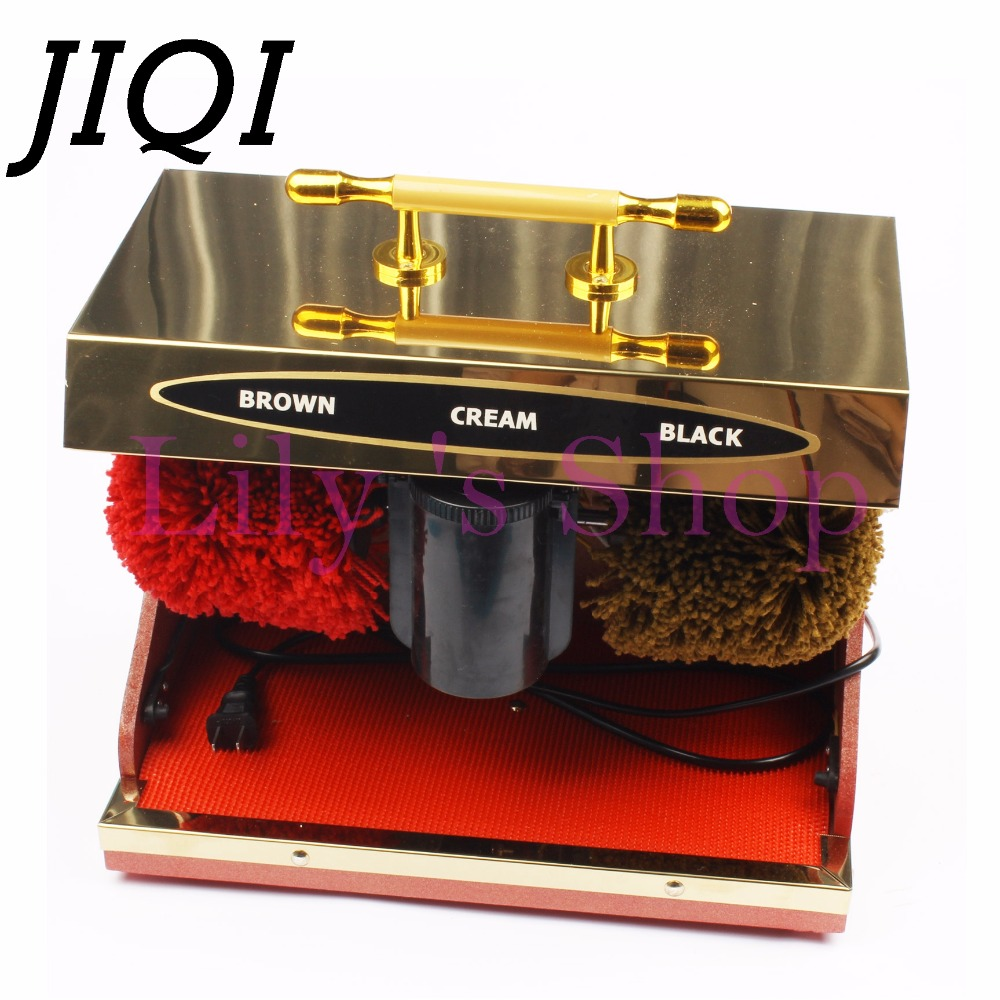 Electrical Shoes cleaner electric shoe polisher woman man Leather shoe automatic cleaning machine kit shoe brush set HOTLE home free shipping fully automatic induction public hotel vertical electric shoe cleaning machines shoe polishing equipment