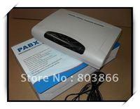 Escritório telefone CP824 PBX/SWITCH com 8 Linhas x 24 Extensões de PBX-sistema Central