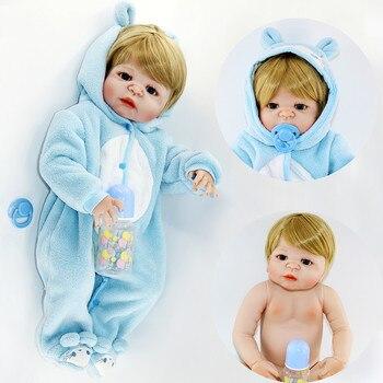 55cm Reborn Baby live girl boy Doll Full Silicone Body Lifelike Bebe Reborn Bonecas Boutique Handmade Baby Toy For Kids Christma